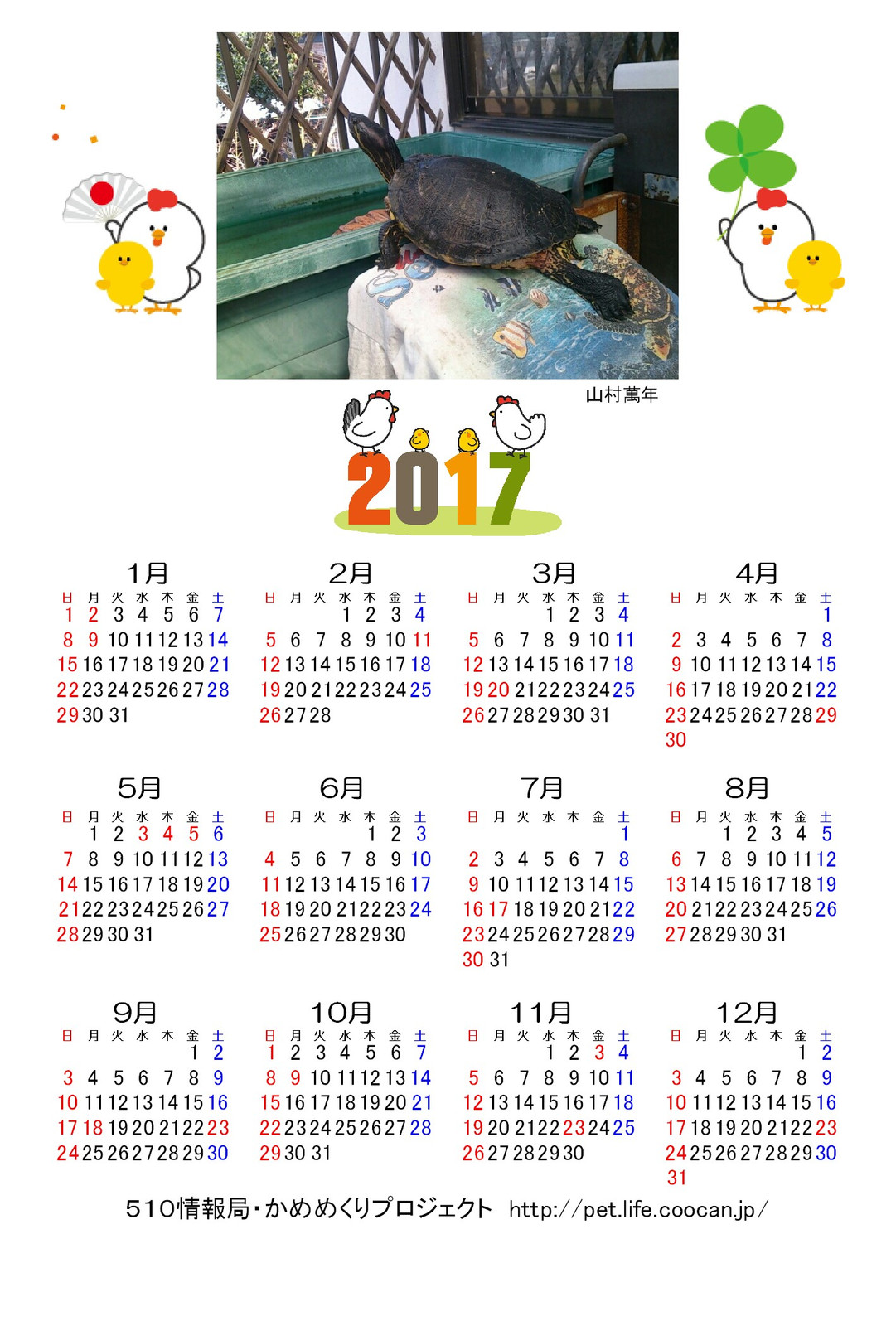2017turtlecalendar_2